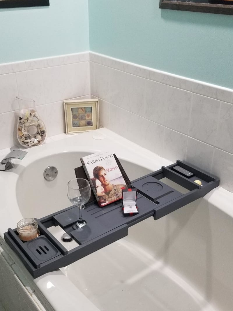 Bookish Bath Tray