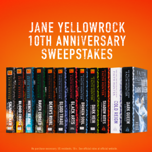 Jane Yellowrock Anniversary Sweepstakes