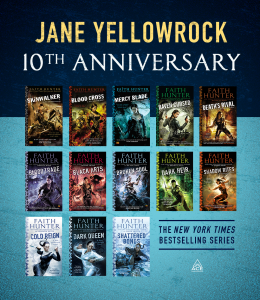 Jane Yellowrock 10th Anniversary