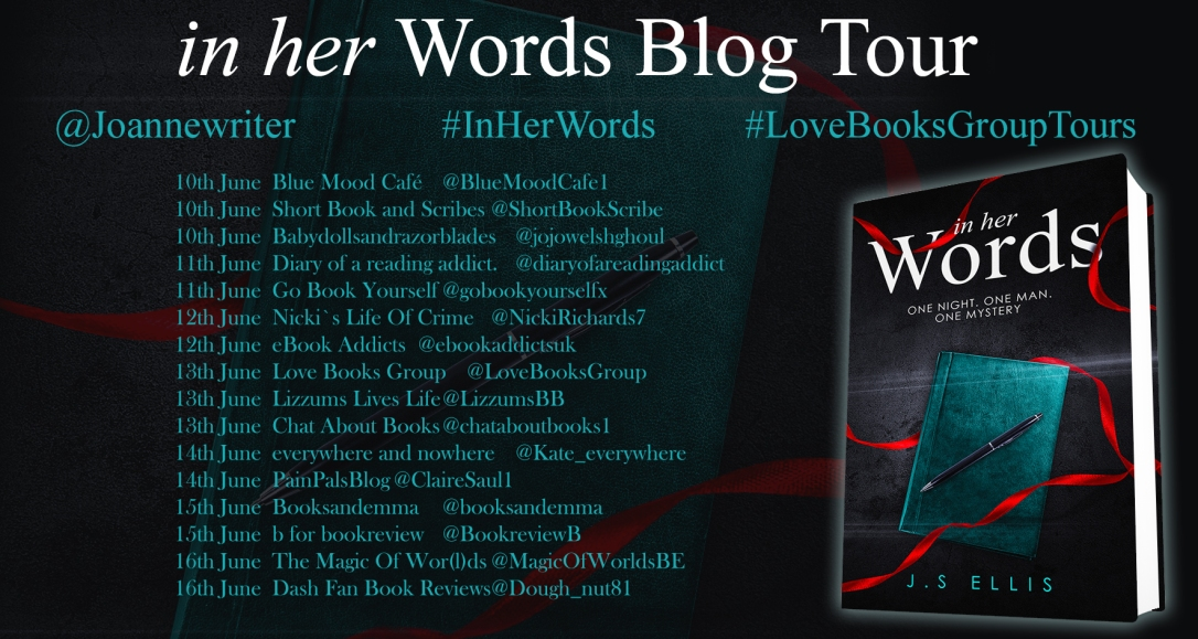 In Her Words Blog Tour Schedule