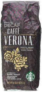 Starbucks Decaf Caffe Verona