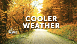 Cooler Weather