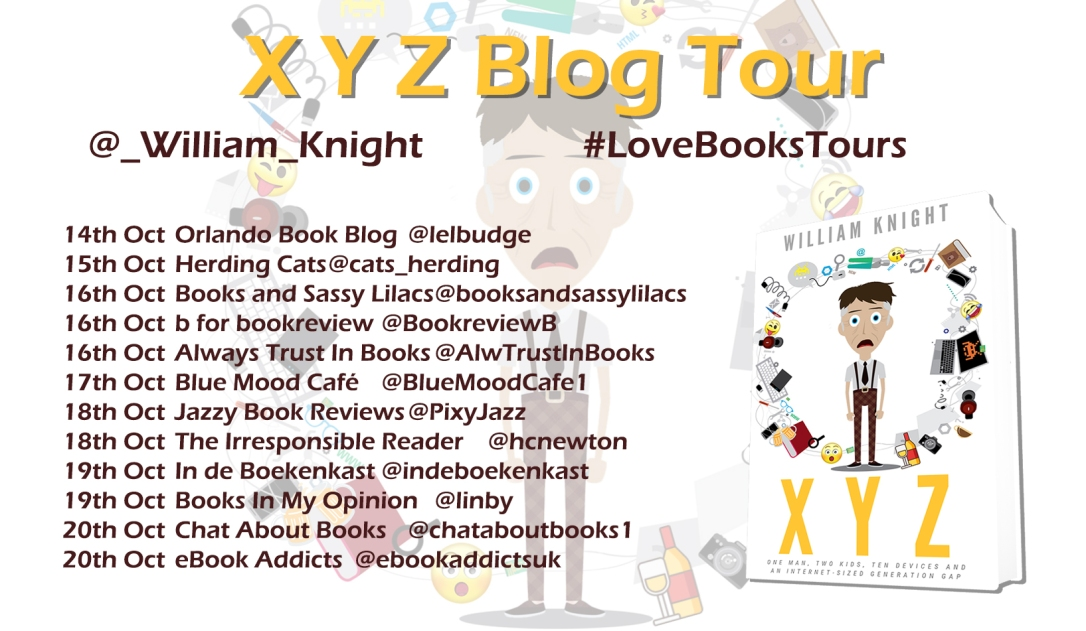 XYZ Blog Tour Poster