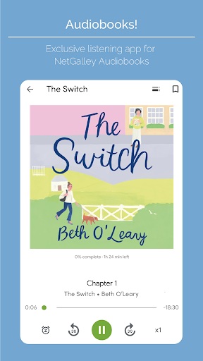 Audiobooks on NetGalley